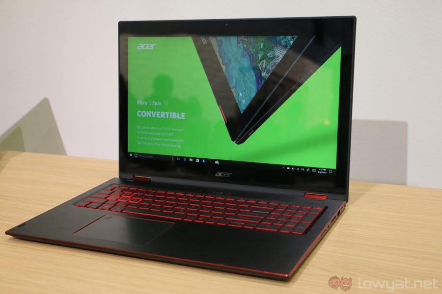 Laptop acer Spin 7 kualitas terbaik