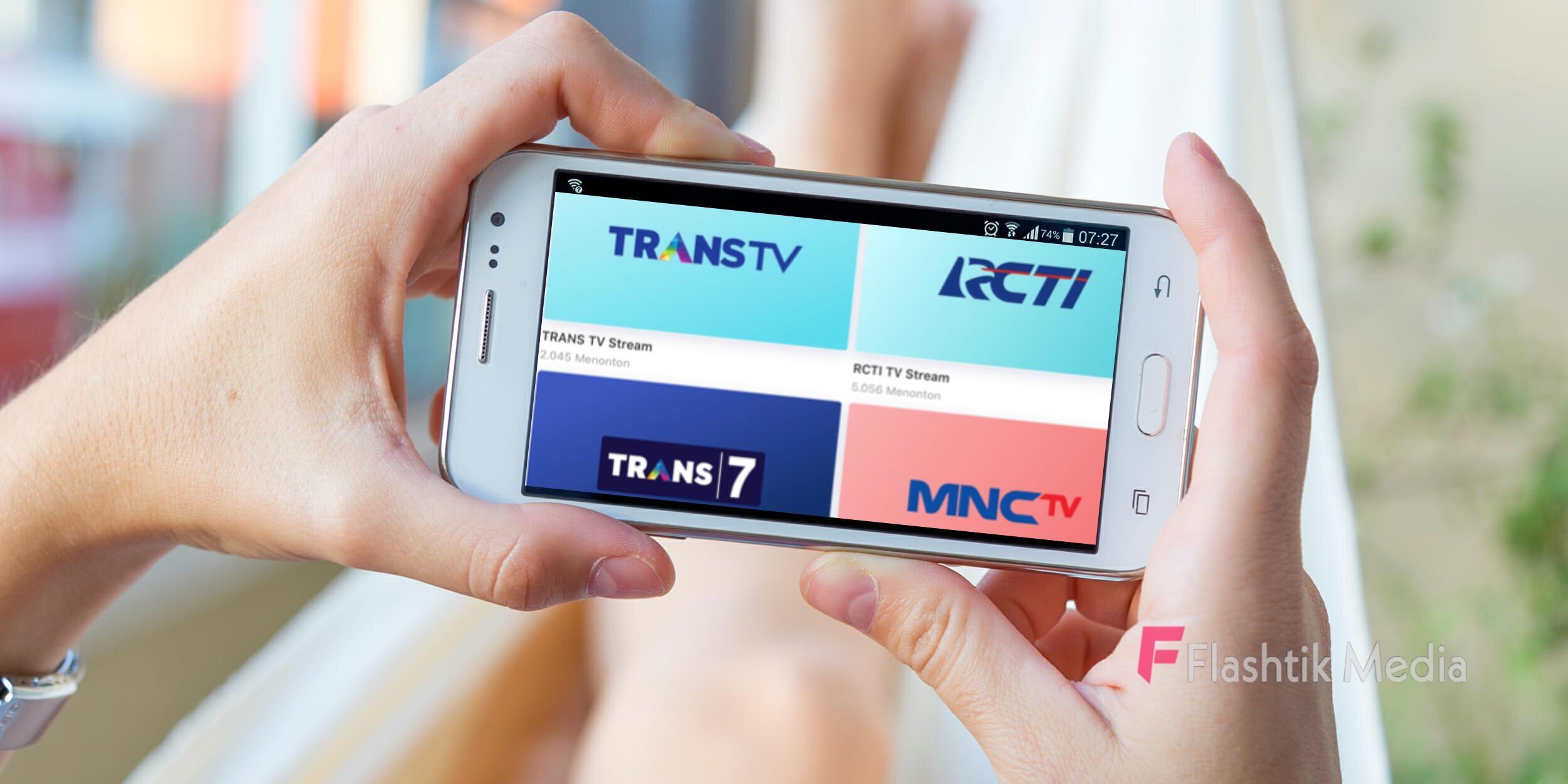 Aplikasi nonton tv online terbaik gratis untuk android
