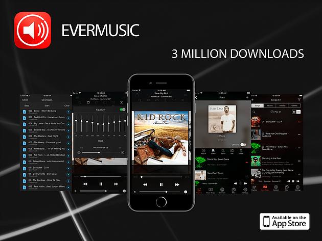 Download musik gratis di Ever music iPhone/iPad
