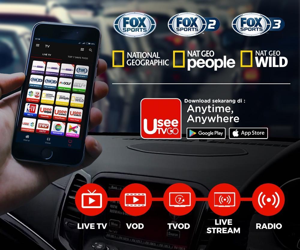 Aplikasi UseeTv online nonton tv terbaik