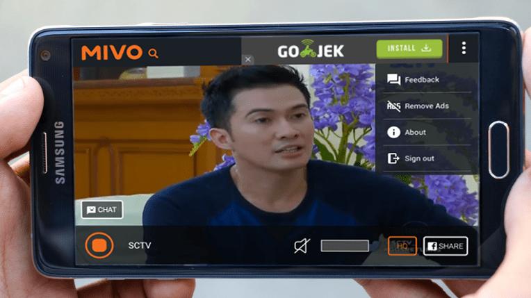 Mivo Tv aplikasi nonton tv Android terbaik