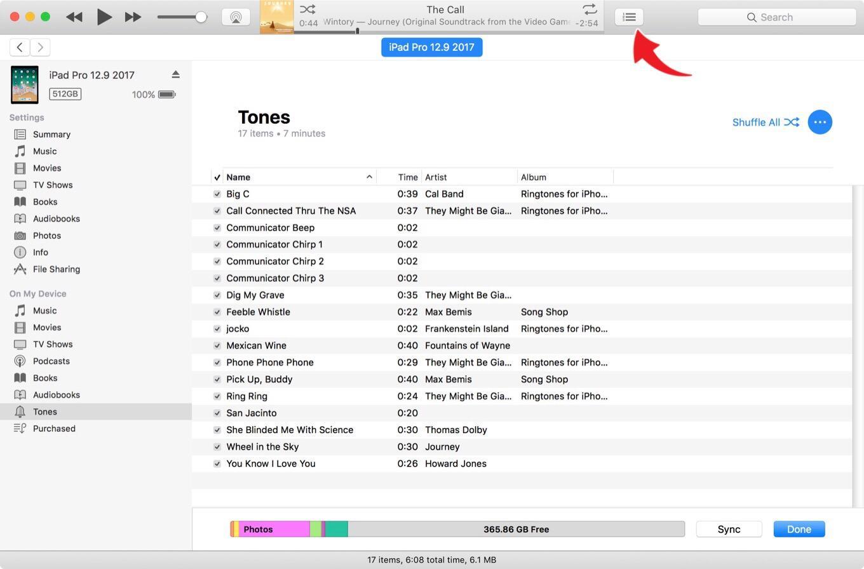 Transfer musik dari iTunes ke iPhone