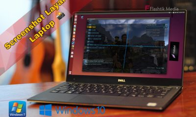 Cara ambil screenshot layar laptop windows dan macbook