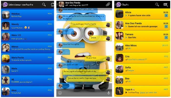 Thema whatsapp minion kartun