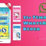 Tema WhatsApp Anime Kartun Terbaru