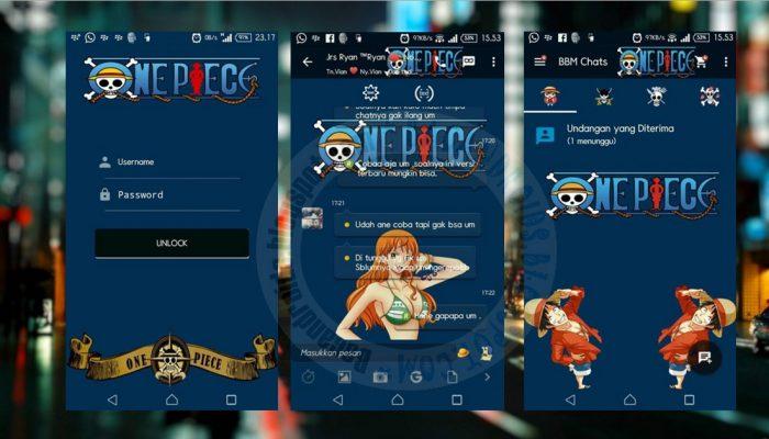 Tema WhatsApp Anime One Piece