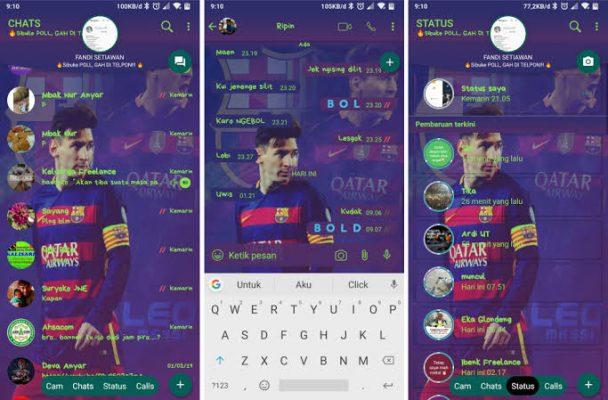 Thema Whatsapp barcelona fc
