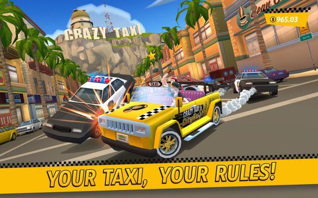 Game mobil Crazy Taxi City Rush