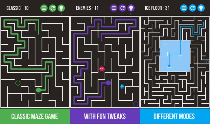 game Maze & More