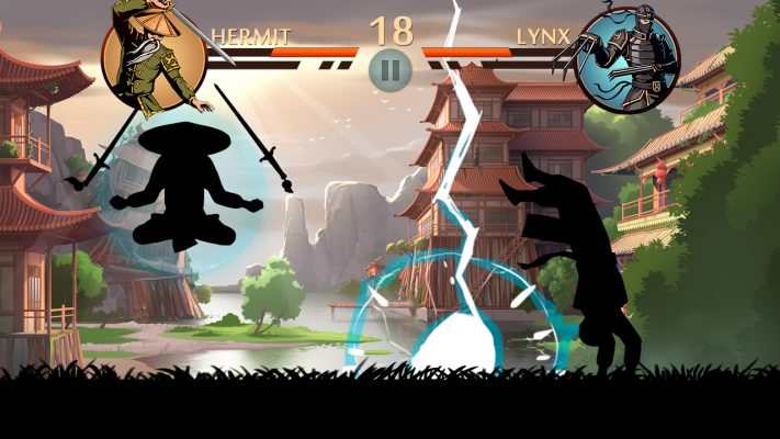 Shadow Fights game aksi