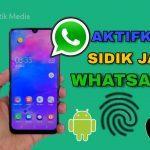 cara aktifkan sidik jari di whatsapp resmi