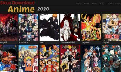 Rekomendasi situs download anime terbaru