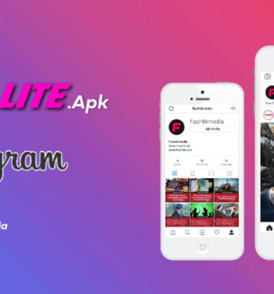 Trik download instagram lite playstore android