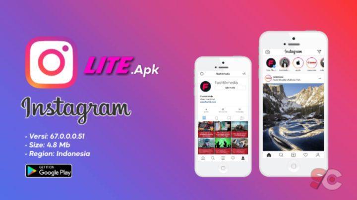 Trik download instagram lite playstore android