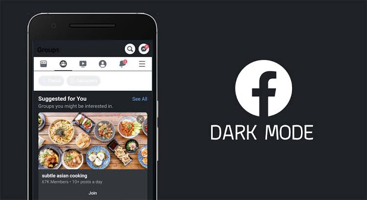 facebook dark mode apk