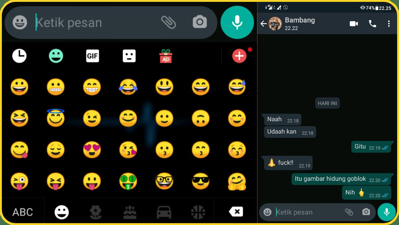 Arti emoji dan gambarnya