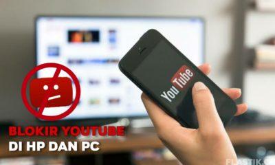 Cara blokir situs youtube