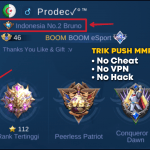 Trik push MMR Top Global Hero