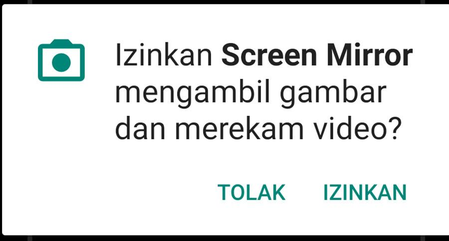 Cara Screen Mirror Tanpa Kabel
