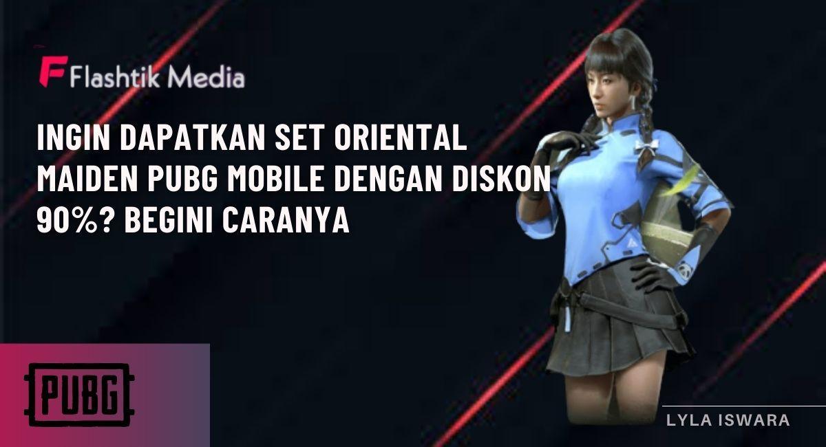 Set Oriental Maiden PUBG Mobile