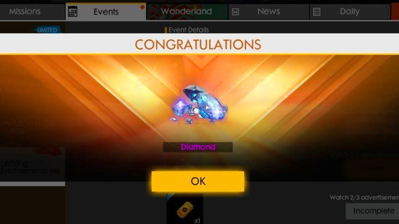 Harga Diamond di Event Less is More FF